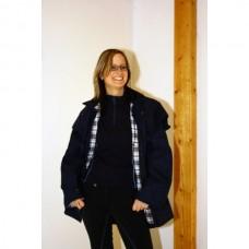 Grazier jacket, Australská nepromokavá bunda v černé barvě a velikosti 7 /44-46/