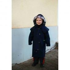 Dětský jezdecký kabát  z durapel materíálu na 6 let v modré barvě
