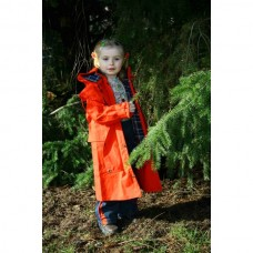 Dětský jezdecký kabát  z durapel materíálu na 6 let v červené barvě
