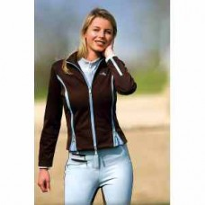 Jezdecká  sportovní softsheel dámská bunda Tina