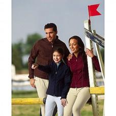 Výprodej, Jezdecká nepromokavá dámská bunda C.S.O v modré barvě a velikosti 36