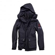 Jezdecká zimní bunda Horze v hnědé barvě a velikosti L