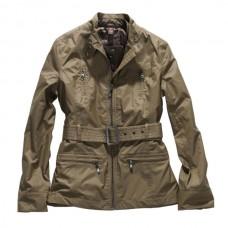 Jezdecký sportovní luxusní kabátek s odnímatelnou vestou uvnitř v kávové barvě, velikosti M od značky Horze