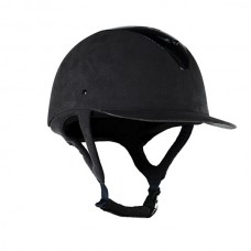 Jezdecká přilba od značky Hoze v černé barvě a velikosti 55
