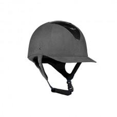 Jezdecká přilba od značky Hoze v šedé barvě a velikosti 55