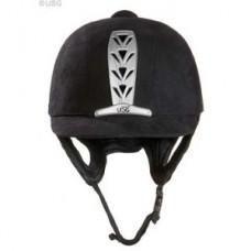 Přilba , helma pro jezdce na koni od USG - výroba v Německu