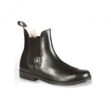 Jezdecká kožená perka s protiskluzovou podrážkou od zančky Hobo Shoes, kvalitní kožené výrobky