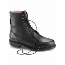 Jezdecká kožená perka Derby šněrovací s protiskluzovou podrážkou od značky Hobo Shoes, kvalitní kožené výrobky