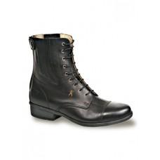 Jezdecká kožená závodní luxusní perka Lady Laura šněrovací od značky Hobo Shoes, kvalitní kožené výrobky