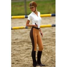 Dámské jezdecké kalhoty MILANO s kontrast.pruhy,bokové