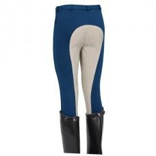 Jezdecké kalhoty pánské s kontrastním celokoženým sedem od firmy  ELT Paris