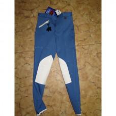 Dětské jezdecké kalhoty,rajtky v barvě modrá/krémová a ve velikosti 164cm