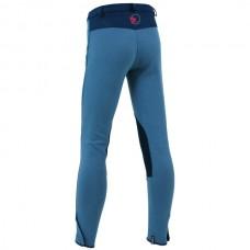Dětské jezdecké kalhoty, rajtky v barvě modrá/tmavěmodrá a velikosti 176
