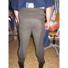 Pánské jezdecké kalhoty ,rajtky Simon s celokoženým sedem, v khaky barvě a velikosti 50