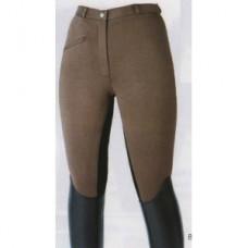 Pánské jezdecké kalhoty s celokoženým sedem  GLOBAL, výprodej