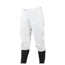 Nepromokavé návleky na závodní rajtky v bílé barvě