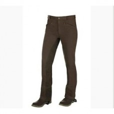 Pánské jezdecké kalhoty Horze, jodhpury v hnědé barvě a velikosti 48