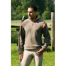 Mikina pro jezdce na koni  v béžová/oranž barvě a velikosti XL