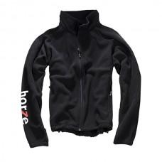 Fleesová bunda na zip v černé barvě a velikosti S od formy Horze