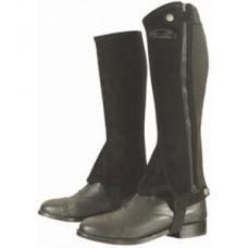 Minichaps pro jezdce na koni irské v česané kůži a s gumou od značky Kentaur