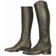 Minichaps pro jezdce na koni Profi celočerné od zančky Kentaur 41/44