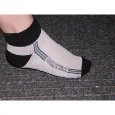 Ponožky  bavlněné Aktiv pro jezdce na koni s logem Equitation v šedé barvě a velikosti 35-38