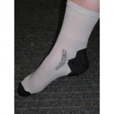 Ponožky  bavlněné pro jezdce na koni s logem Equitation v šedé barvě a velikosti 35-38