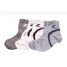 Ponožky pro jezdce na koni bavlněné v  šedé barvě a velikosti 39-41