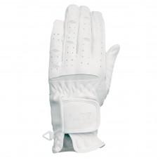 Jezdecké  rukavice z umělé kůže pro jezdce na koni od značky  ELT