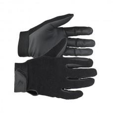 Fleesové zimní jezdecké rukavice v černé barvě a velikosti M