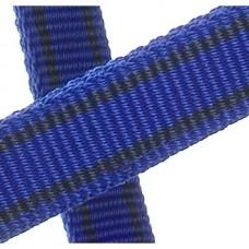 Ohlávka nylonová v tmavě modré barvě  a velikosti extra full