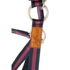 Ohlávka  na koně nylonová v vínovošedé barvě a velikosti extra full od  značky Jeffriess