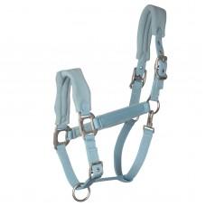 Ohlávka stájová  pro koně vypodložená fleesem de luxe ohlávka pro koně