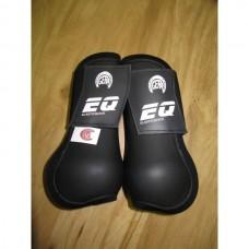 Skokové přední chrániče Elastic Quick od značky Gera v černé barvě a velikosti 2