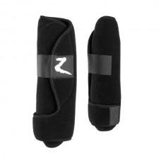 Spěnkové chrániče  na nohy koně neoprénové -zapínání na suchý zip-černé-velikost full