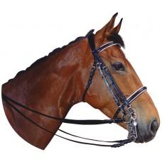 Uzda na koně EXCELSIOR podložením