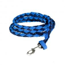 Vodítko na koně dvoubarevné-tm.modrá/modrá 2m